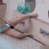 女子寮の女子風呂ではもう女子として見られない放尿などの悪行が日常茶飯事