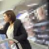 ドラッグストアで買い物をするニーハイミニスカギャルのパンチラがエロ過ぎた。